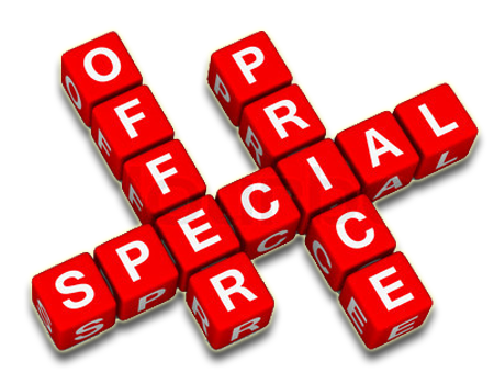 Deals-Enjoy Our Special Offers Banner