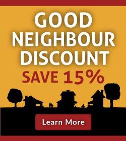Good Neighbour Discount Banner